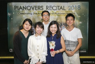 Pianovers Recital 2018, Janel Chua, Jasmine Khoo, and their friends