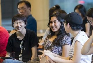 Pianovers Meetup #107, Pek Siew Tin, Haziqah, and Grace Wong