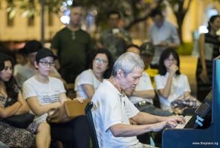 Pianovers Meetup #107, Albert Chan performing