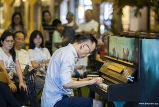 Pianovers Meetup #107, Yu Teik Lee performing