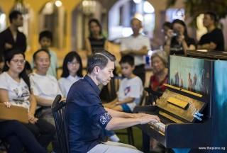Pianovers Meetup #107, Rony Ang performing