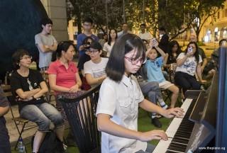 Pianovers Meetup #107, Lau Si Zhu performing