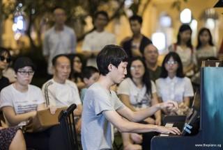 Pianovers Meetup #107, Wong Jiaxin performing