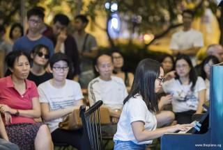Pianovers Meetup #107, Esther Tang performing