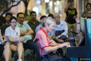 Pianovers Meetup #108, Albert Chan performing