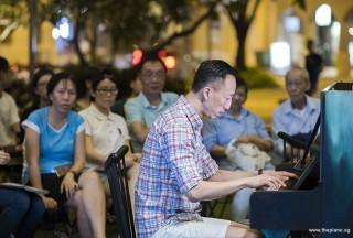 Pianovers Meetup #108, Yu Teik Lee performing