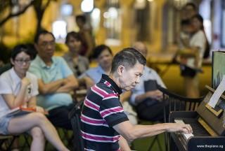 Pianovers Meetup #108, Rony Ang performing