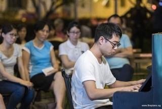 Pianovers Meetup #108, Kendrick Ong Bing Shao performing