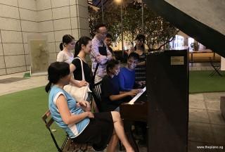 Pianovers Meetup #108, Pianovers jamming #1