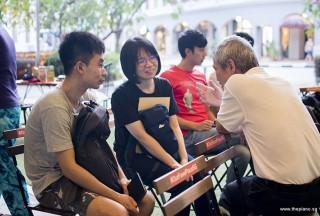 Pianover Meetup #109, Song Yang, Rowen Wong, and Albert Chan