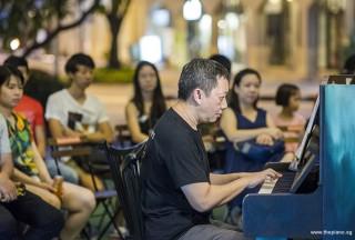 Pianover Meetup #109, Gavin Koh performing