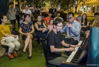 Pianover Meetup #109, Pek Siew Tin, and Kelvin performing