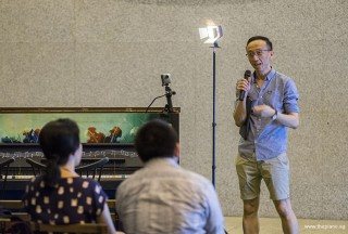 Pianovers Meetup #109, Yu Teik Lee sharing with us