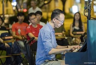 Pianovers Meetup #109, Yu Teik Lee performing