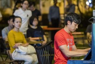 Pianovers Meetup #109, Ang Hua Jun performing