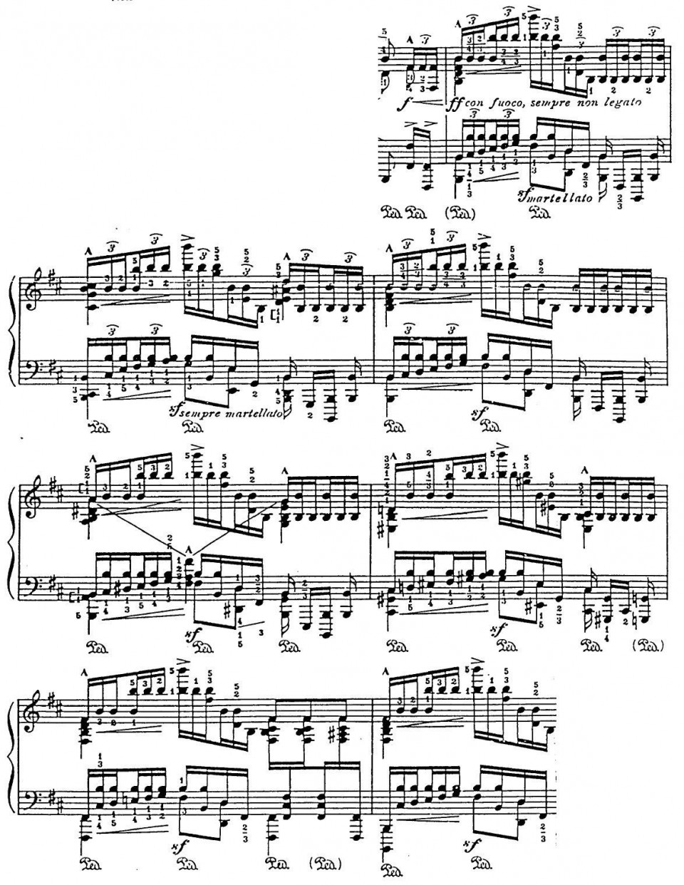 Figure 3(b) A late variation of the Passacaglia. Can you find the melodic line of the theme?