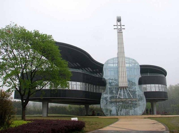 Piano House in Huainan City, China (Photo by Indulgd.com)