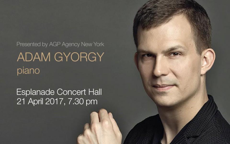 """Adam Gyorgy, Piano"" concert on 21 Apr 2017, Singapore Esplanade Concert Hall"
