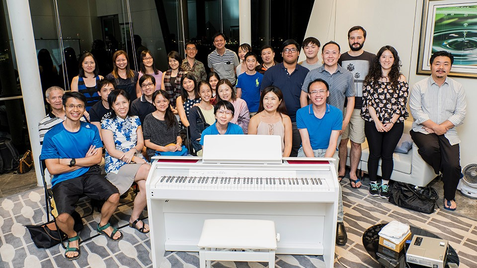 Pianovers Meetup #31 - Group picture