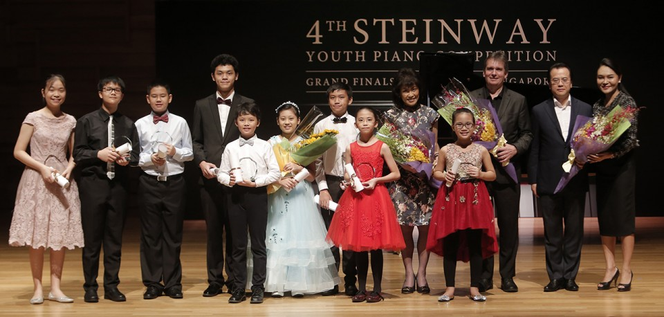 4th Steinway Youth Piano Competition 2018, Contestants, Judges, and Celine Goh