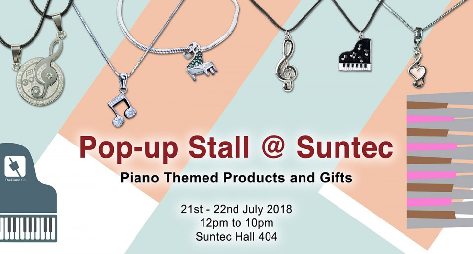 ThePiano.SG Popup Store @ Suntec Hall 404