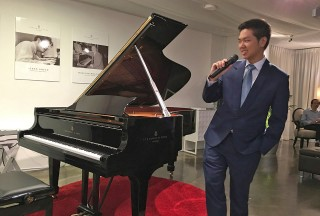 Congyu Wang introducing his new CD Album, Charme