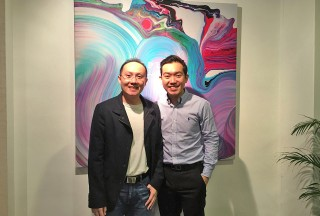 Sng Yong Meng with Andrew Goh from Steinway