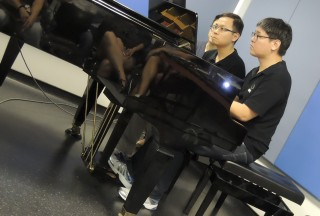 NUS Piano Ensemble Alumni Concert on 09 January 2016, Kelvin Koh and Sum Yin Ngai