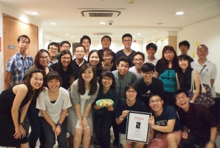 NUS Piano Ensemble Alumni Concert on 09 January 2016, Group photo