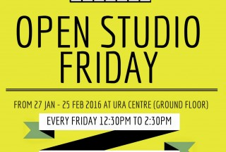 Play It Forward, Open Studio Friday, The URA Centre, Poster