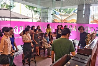 Play It Forward, Open Studio Friday, The URA Centre, Showcasing the pianos to the public