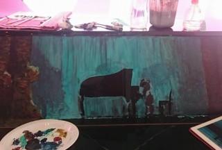 Play It Forward, Open Studio Friday, The URA Centre, Art by Jacq Wang