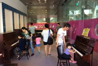 Play It Forward, Open Studio Friday, The URA Centre, The public touring the studio