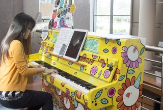 "Liew Hui Jie plays ""Give Thanks (With a Graceful Heart)"""