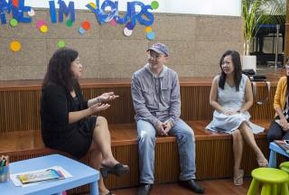 Serene Chew, Sng Yong Meng, Pauline Tan, Liew Hui Jie enjoying the discussions about piano teaching