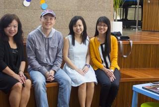 Serene Chew, Sng Yong Meng, Pauline Tan, Liew Hui Jie