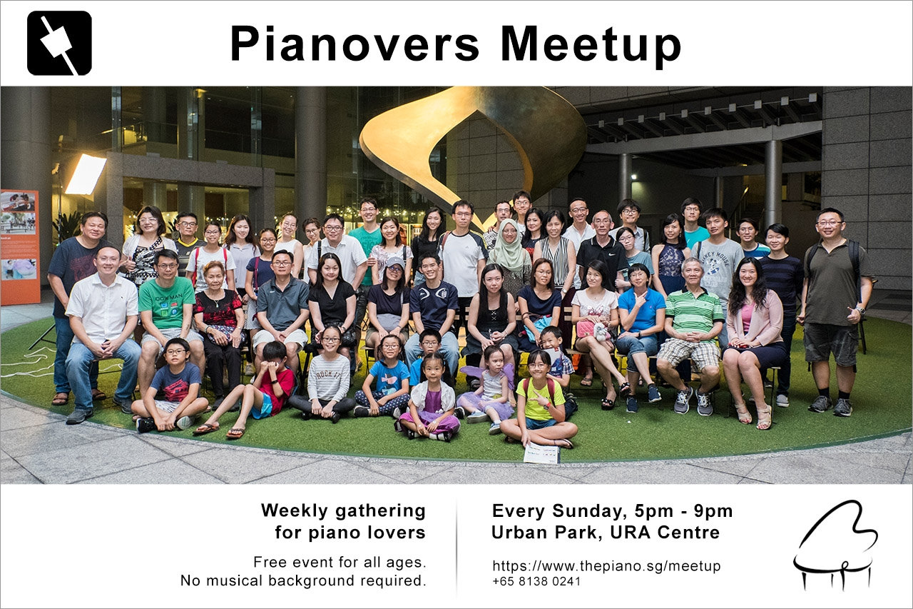 Pianovers Meetup