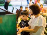 Pianovers Meetup #30, Jinny and Heok Hwa performing