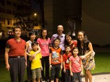 Pianovers Meetup #30, Shu Wen, her parents, Eng Wee, Pamela, and their kids