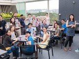 Pianovers Meetup #31, Group picture at dining area