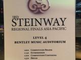 3rd Steinway Regional Finals Asia Pacific 2016, Programmes