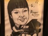 Caricature of Pornapas Kijoran, 12, Thailand, at 3rd Steinway Regional Finals Asia Pacific 2016