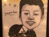 Caricature of Dohyun Lee, 15, Korea, at 3rd Steinway Regional Finals Asia Pacific 2016