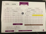 3rd Steinway Regional Finals Asia Pacific 2016, Seating Arrangement