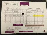 3rd Steinway Regional Finals Asia Pacific 2016, Seating Arrangement