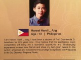 3rd Steinway Regional Finals Asia Pacific 2016, Contestant Profile, Hansel Harel L. Ang, 13, Philippines