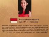 3rd Steinway Regional Finals Asia Pacific 2016, Contestant Profile, Caitlin Aurelia Wiranata, 14, Indonesia