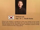 3rd Steinway Regional Finals Asia Pacific 2016, Contestant Profile, Dohyun Lee, 15, Korea
