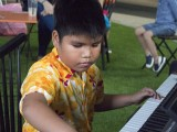 Pianovers Meetup #1, Ms He Zong Yi's student, Isaiah Patrick, performs