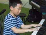 Pianovers Meetup #1, Ms He Zong Yi's student, Xu Haishi, performs
